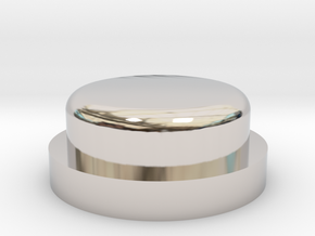 Fire Button - All Materials in Platinum