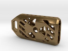 Radiation Lantern 1: Tritium (All Materials) in Natural Bronze