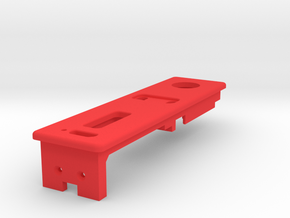 Exterior Mount - With USB in Red Processed Versatile Plastic