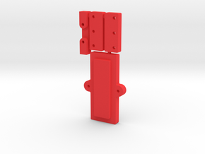 26650 Mod Clamp Group in Red Processed Versatile Plastic