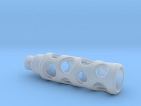 Tritium Lantern 1A (Silver/Brass/Plastic) in Smooth Fine Detail Plastic