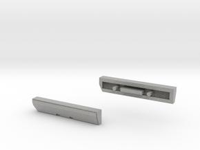 Scoria Left And Right Side Panels in Metallic Plastic