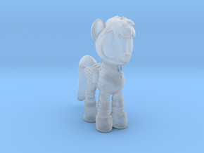 Pony SciFi Armor in Smooth Fine Detail Plastic