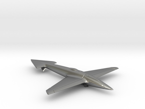 Uni-Dir Slim Plane Toy (88mm long) in Natural Silver