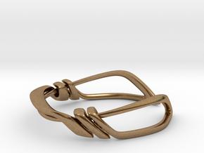 Dyna Bracelet  in Natural Brass