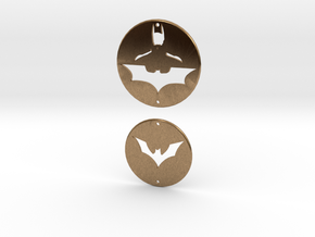 Batman Charms Set 1 in Natural Brass