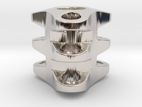Triple Tritium Bead 1 (2.5x10mm Vials) in Platinum