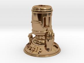 Gossip  in Polished Brass