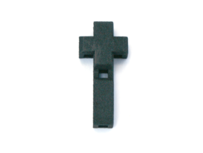 Realist cross in Black Natural Versatile Plastic
