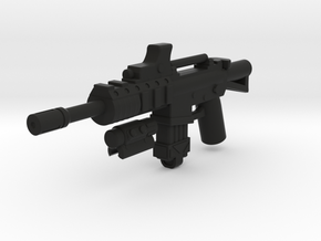 Hybrid M4A1  in Black Natural Versatile Plastic