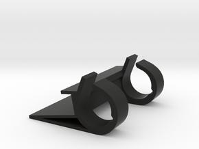 Mac Keyboard Phone Stand in Black Natural Versatile Plastic