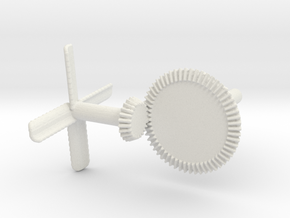 mechanical fan in White Natural Versatile Plastic
