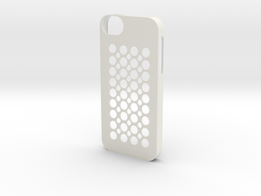 iphone 5 case (cover) in White Natural Versatile Plastic