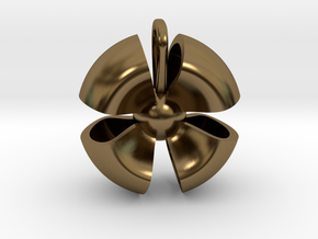 Ribbon small in Polished Bronze