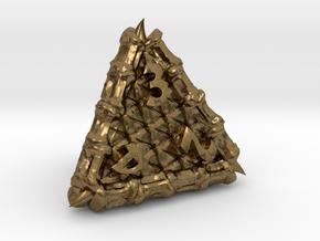 Dragon d4 in Natural Bronze
