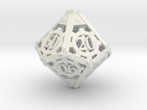 Steampunk Percentile in White Natural Versatile Plastic