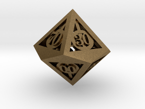 Deathly Hallows d00 in Natural Bronze