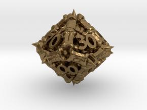 Dragon d00 in Natural Bronze