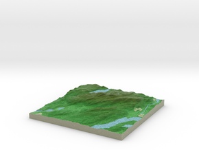 Terrafab generated model Sun Sep 21 2014 08:04:30  in Full Color Sandstone