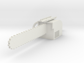 Chainsaw Bayonet in White Natural Versatile Plastic