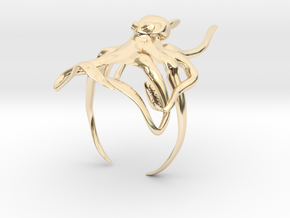 Octoring-Size 5 in 14K Gold