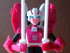 Sunlink - Arcee Batons x2 in White Strong & Flexible