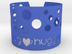 Mughuggerwrapper2014withHoles in Blue Processed Versatile Plastic
