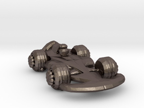 Formula1 Car Own Design in Polished Bronzed Silver Steel
