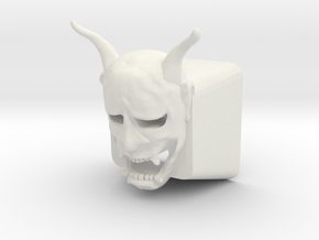 Cherry MX Hannya Keycap (with cutouts for LEDs) in White Natural Versatile Plastic
