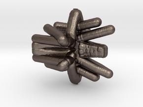 Wierd in Polished Bronzed Silver Steel
