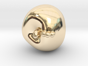 Apple in 14K Yellow Gold