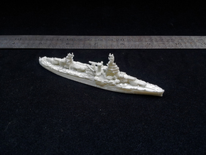 USN BB35 Texas[1944] in White Natural Versatile Plastic: 1:1800