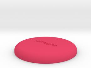 MetaWear Round Upper 914 in Pink Processed Versatile Plastic