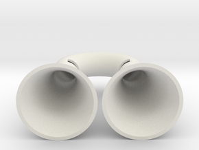 Iphone Speaker in White Natural Versatile Plastic