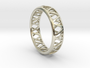 Truss Ring 1 Size 10 in 14k White Gold