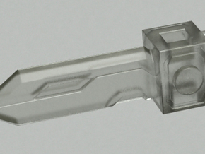 Pop gun Part-B in Frosted Ultra Detail