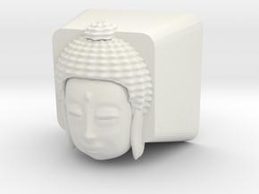 Cherry MX Buddha Keycap in White Natural Versatile Plastic