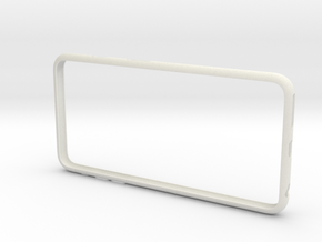 IPhone6 Plus Bumper in White Natural Versatile Plastic