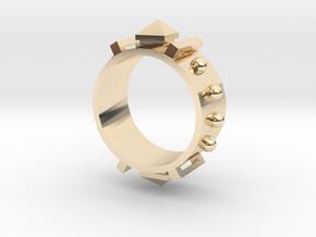 Edwardian Guard III Ring - Sz. 6 in 14K Yellow Gold
