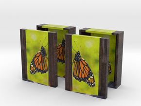 Butterbook Box - Set - 3in in Full Color Sandstone