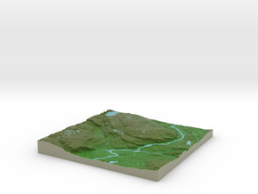 Terrafab generated model Thu Aug 28 2014 08:06:32  in Full Color Sandstone