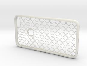 IPhone6 Plus D2 in White Natural Versatile Plastic