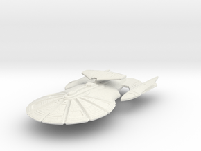 Atlanta Class HvyCruiser (with Weapon Pod) in White Strong & Flexible