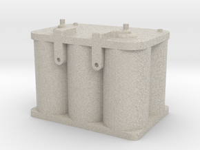 Optima Style 1:10 Scale Battery  in Natural Sandstone
