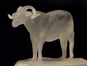 Sheep Figurine in Smooth Fine Detail Plastic