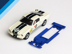 1/32 Monogram Ford Mustang GT350 Chassis in White Natural Versatile Plastic