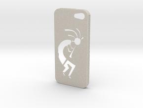 Kokopelli iPhone Case in Natural Sandstone