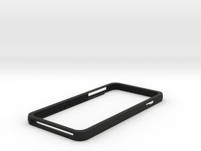 Iphone 6 Plus Minimalist Case in Black Natural Versatile Plastic