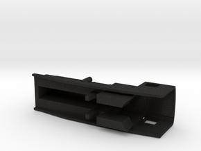 3D Garrat Caldera in Black Acrylic