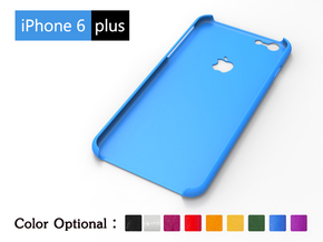 IPhone6 Plus case—trademark in Blue Processed Versatile Plastic